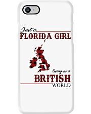 Just An Florida Girl In British Phone Case thumbnail