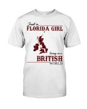Just An Florida Girl In British Classic T-Shirt front