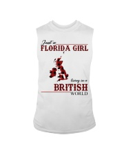 Just An Florida Girl In British Sleeveless Tee thumbnail