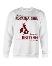 Just An Florida Girl In British Crewneck Sweatshirt thumbnail