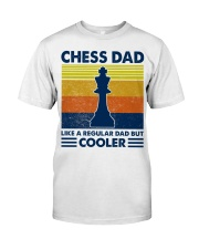 Chess Dad Like A Regular Dad But Cooler Classic T-Shirt tile