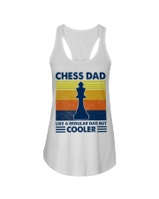Chess Dad Like A Regular Dad But Cooler Ladies Flowy Tank thumbnail