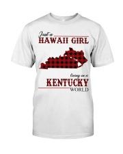 Just A Hawaii Girl Inkentucky Classic T-Shirt front