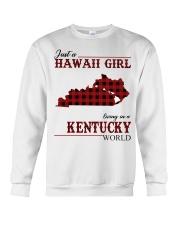 Just A Hawaii Girl Inkentucky Crewneck Sweatshirt thumbnail