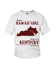 Just A Hawaii Girl Inkentucky Youth T-Shirt thumbnail