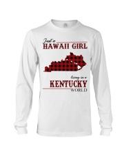 Just A Hawaii Girl Inkentucky Long Sleeve Tee thumbnail