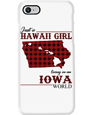 Just A Hawaii Girl In iowa Phone Case thumbnail
