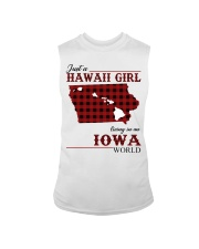 Just A Hawaii Girl In iowa Sleeveless Tee thumbnail
