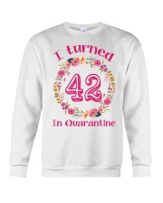 42nd Birthday 42 Years Old Crewneck Sweatshirt thumbnail
