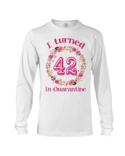 42nd Birthday 42 Years Old Long Sleeve Tee thumbnail