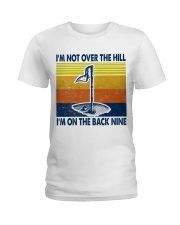 Golf I'm Not Over The Hill Ladies T-Shirt thumbnail