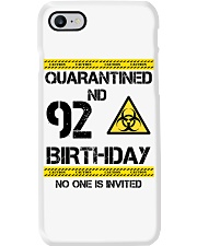 92nd Birthday 92 Years Old Phone Case thumbnail