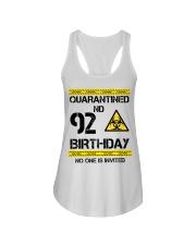 92nd Birthday 92 Years Old Ladies Flowy Tank thumbnail