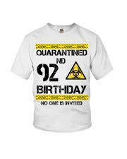 92nd Birthday 92 Years Old Youth T-Shirt thumbnail