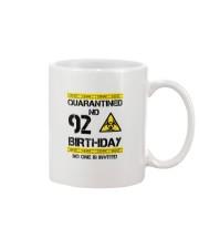 92nd Birthday 92 Years Old Mug thumbnail