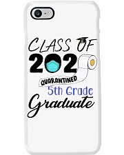 Class Of 2020 Quarantined 5th Grade Graduate Phone Case tile