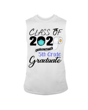 Class Of 2020 Quarantined 5th Grade Graduate Sleeveless Tee tile