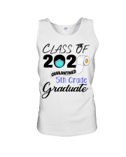 Class Of 2020 Quarantined 5th Grade Graduate Unisex Tank tile