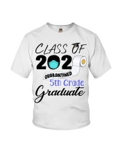 Class Of 2020 Quarantined 5th Grade Graduate Youth T-Shirt thumbnail