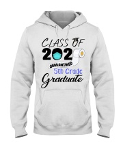 Class Of 2020 Quarantined 5th Grade Graduate Hooded Sweatshirt thumbnail