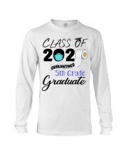 Class Of 2020 Quarantined 5th Grade Graduate Long Sleeve Tee tile