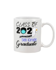 Class Of 2020 Quarantined 5th Grade Graduate Mug tile