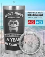 School Bus Driver- Personalized Christmas Gift 20oz Tumbler aos-20oz-tumbler-lifestyle-front-47
