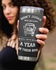 School Bus Driver- Personalized Christmas Gift 20oz Tumbler aos-20oz-tumbler-lifestyle-front-93