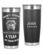 School Bus Driver- Personalized Christmas Gift 20oz Tumbler front