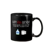 49th Birthday 49 Year Old Mug tile