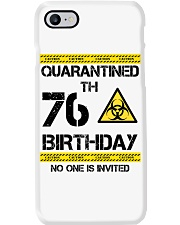 76th Birthday 76 Years Old Phone Case thumbnail