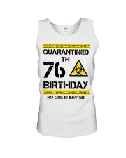 76th Birthday 76 Years Old Unisex Tank tile
