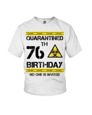 76th Birthday 76 Years Old Youth T-Shirt thumbnail