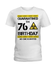 76th Birthday 76 Years Old Ladies T-Shirt thumbnail