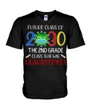 2nd Grade V-Neck T-Shirt tile