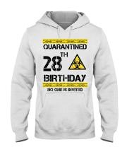 28th Birthday 28 Years Old Hooded Sweatshirt thumbnail
