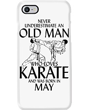 Never Underestimate  Old Man Karate May Phone Case thumbnail