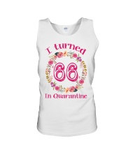 66th Birthday 66 Years Old Unisex Tank tile