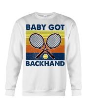 Baby Got Backhand-Tennis Crewneck Sweatshirt tile