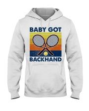 Baby Got Backhand-Tennis Hooded Sweatshirt tile