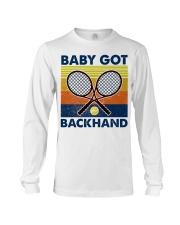 Baby Got Backhand-Tennis Long Sleeve Tee tile
