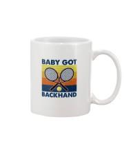 Baby Got Backhand-Tennis Mug tile