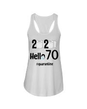 70th Birthday 70 Years Old Ladies Flowy Tank thumbnail