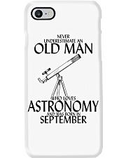 Never Underestimate Old Man Astronomy September  Phone Case thumbnail