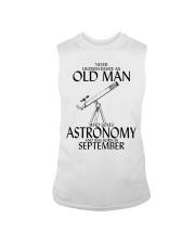 Never Underestimate Old Man Astronomy September  Sleeveless Tee thumbnail