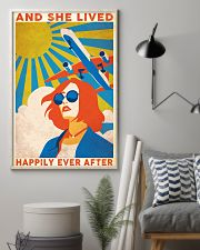 Travelling And She Lived Happily Ever After 24x36 Poster lifestyle-poster-1