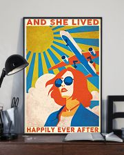 Travelling And She Lived Happily Ever After 24x36 Poster lifestyle-poster-2