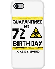72nd Birthday 72 Years Old Phone Case thumbnail