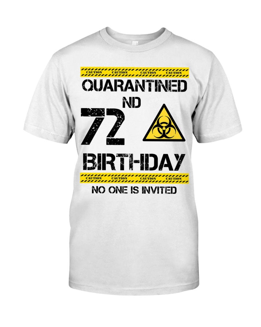72nd Birthday 72 Years Old Classic T-Shirt