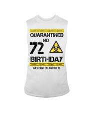 72nd Birthday 72 Years Old Sleeveless Tee thumbnail